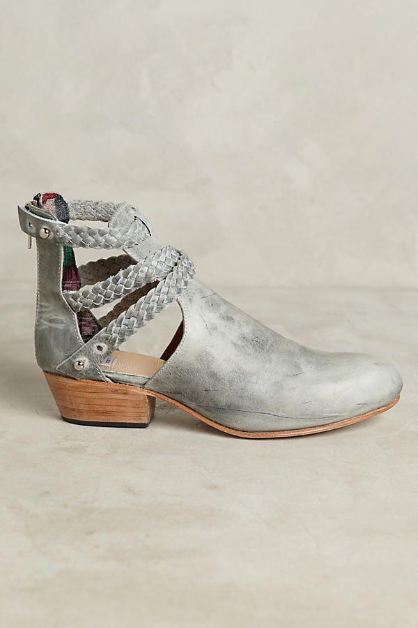 ff546c33adde Uxibal Trenza Cutout Braided Booties https   bellanblue.com Funky Shoes