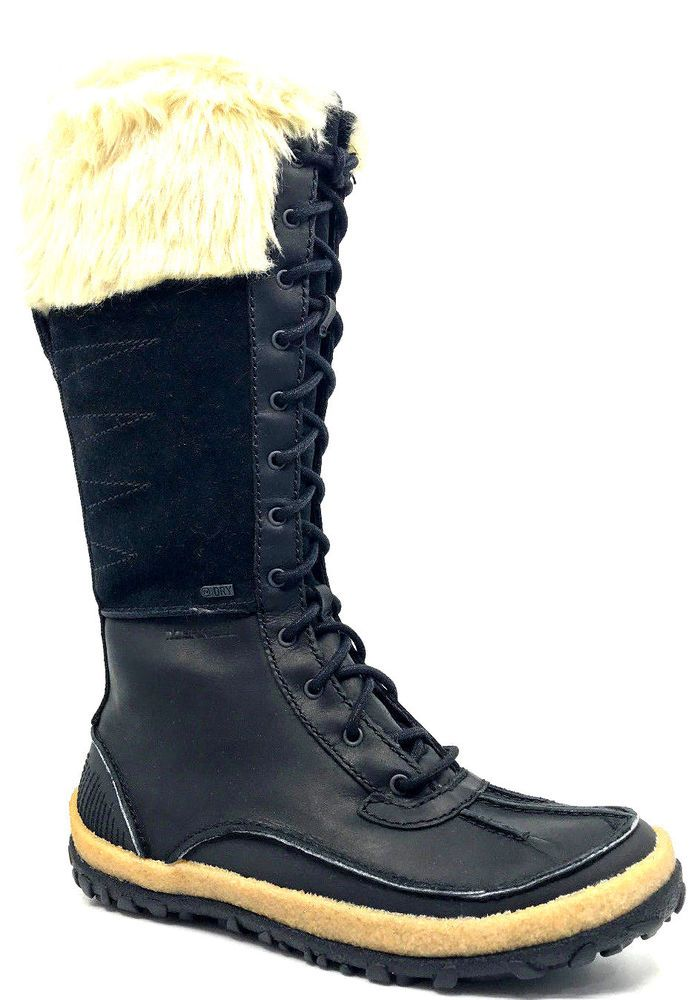 e61e5b4c1b Merrell Tremblant Tall Polar Waterproof Womens Snow Boot Black ...