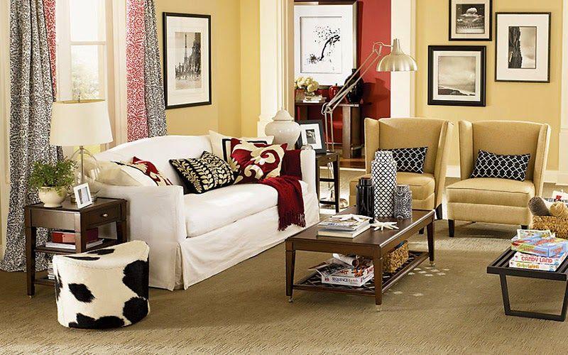 Die Beliebten Teppich Farbe Trends für Ihr Haus - Wohnzimmer Ideen - farbe wohnzimmer ideen