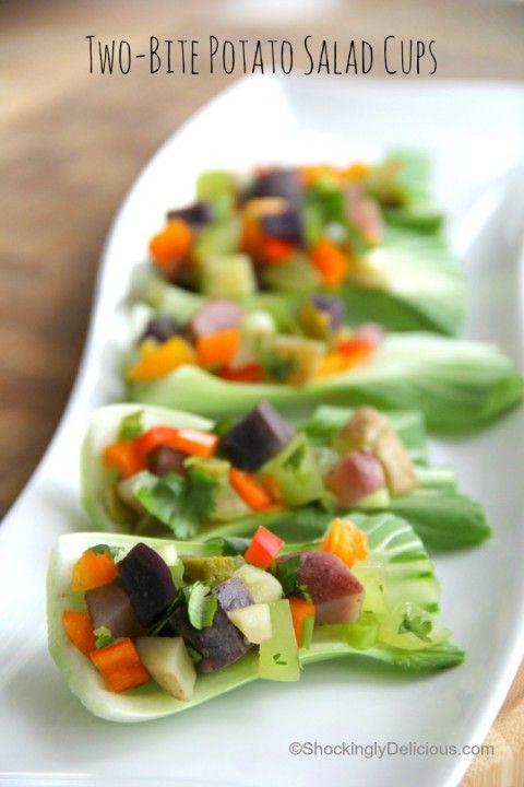 Two Bite Potato Salad Cups