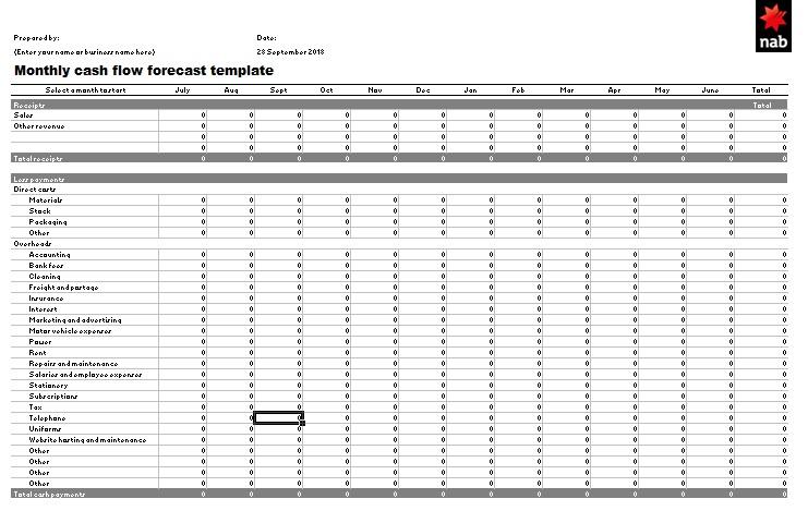 14+ Cash Flow Statement Templates Cash flow statement