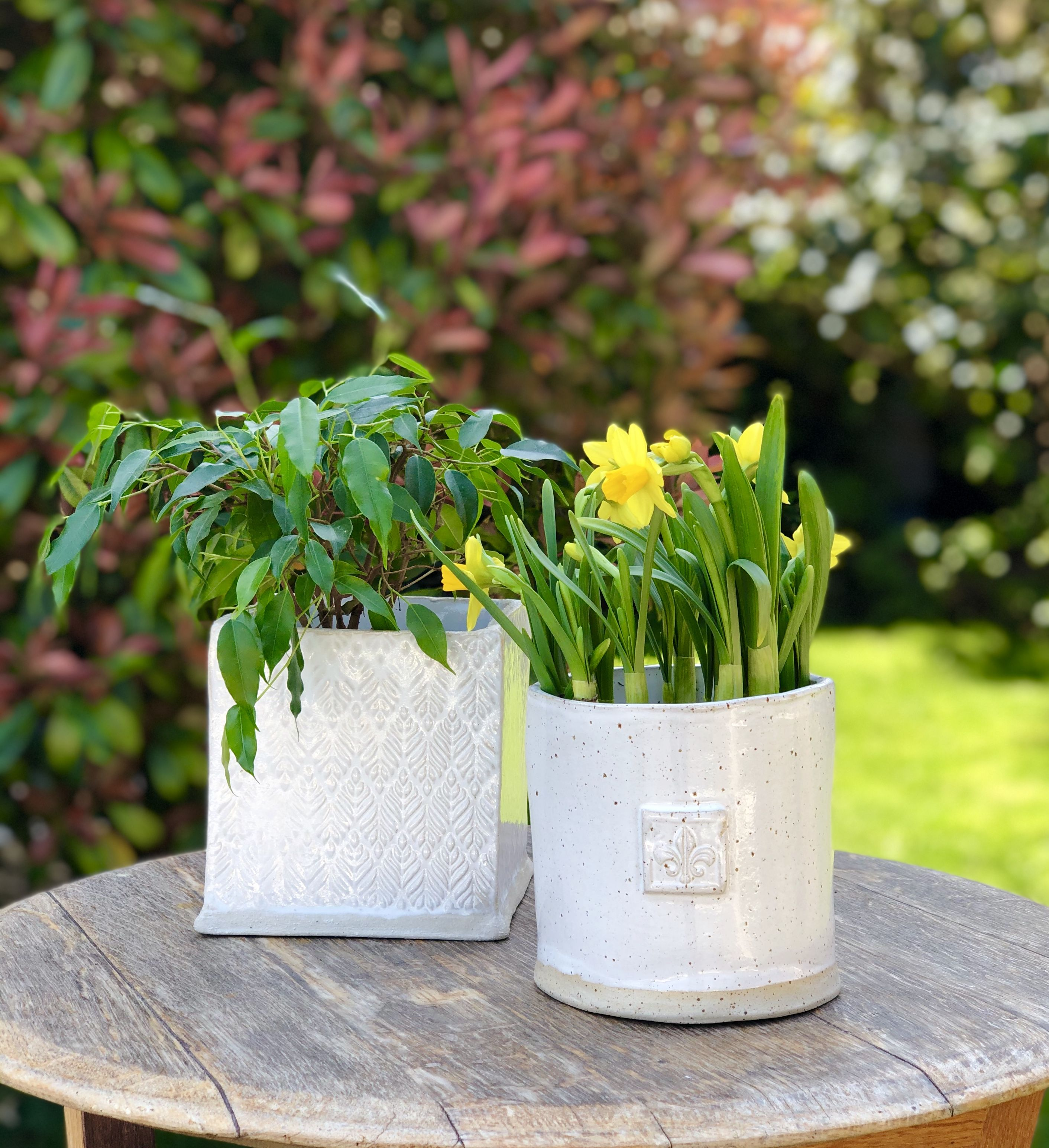 #slabpottery #ceramics #flowerpots #potterydesign