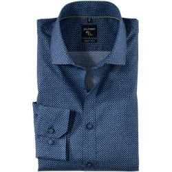 Photo of Olymp No. Six shirt, super slim, Royal Kent, Navy, 40 Olymp