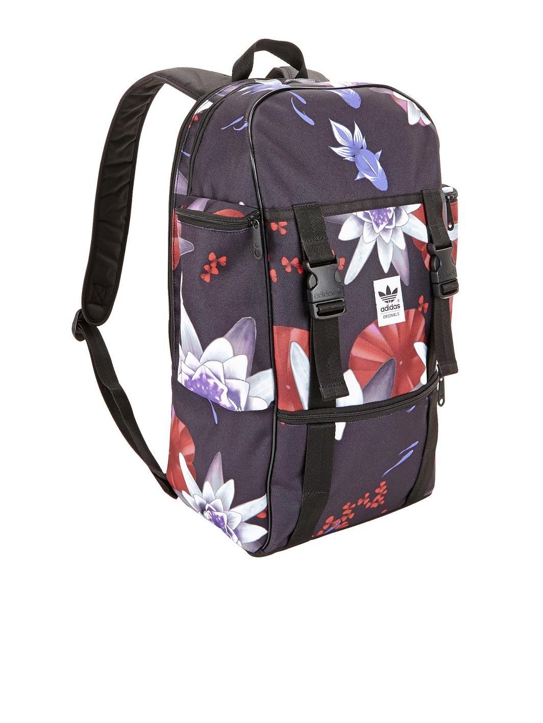 4be11a5923 adidas Originals Lotus Print Backpack