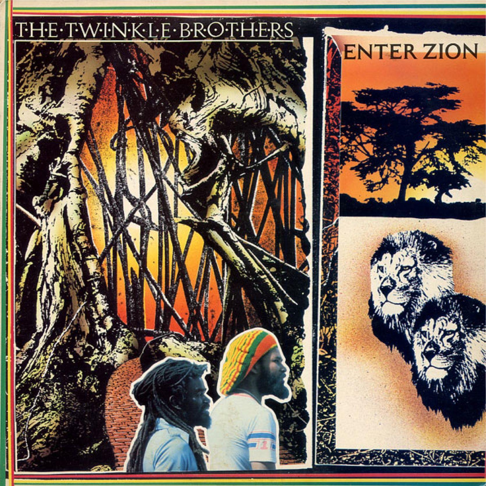 The Twinkle Brothers Enter Zion 1984 Reggae Vinyl Graphics Vinyl