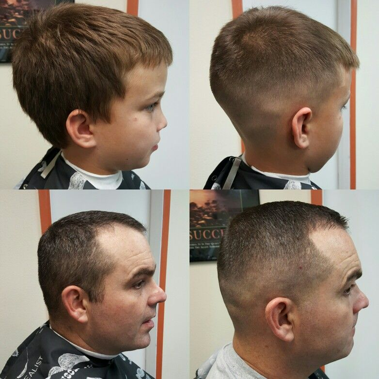 Father And Son Skin Fade Haircuts By Me Pinterest Man Hair And