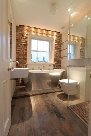 Photo of Brick Tiles to achieve that exposed brick look in your Bathroom