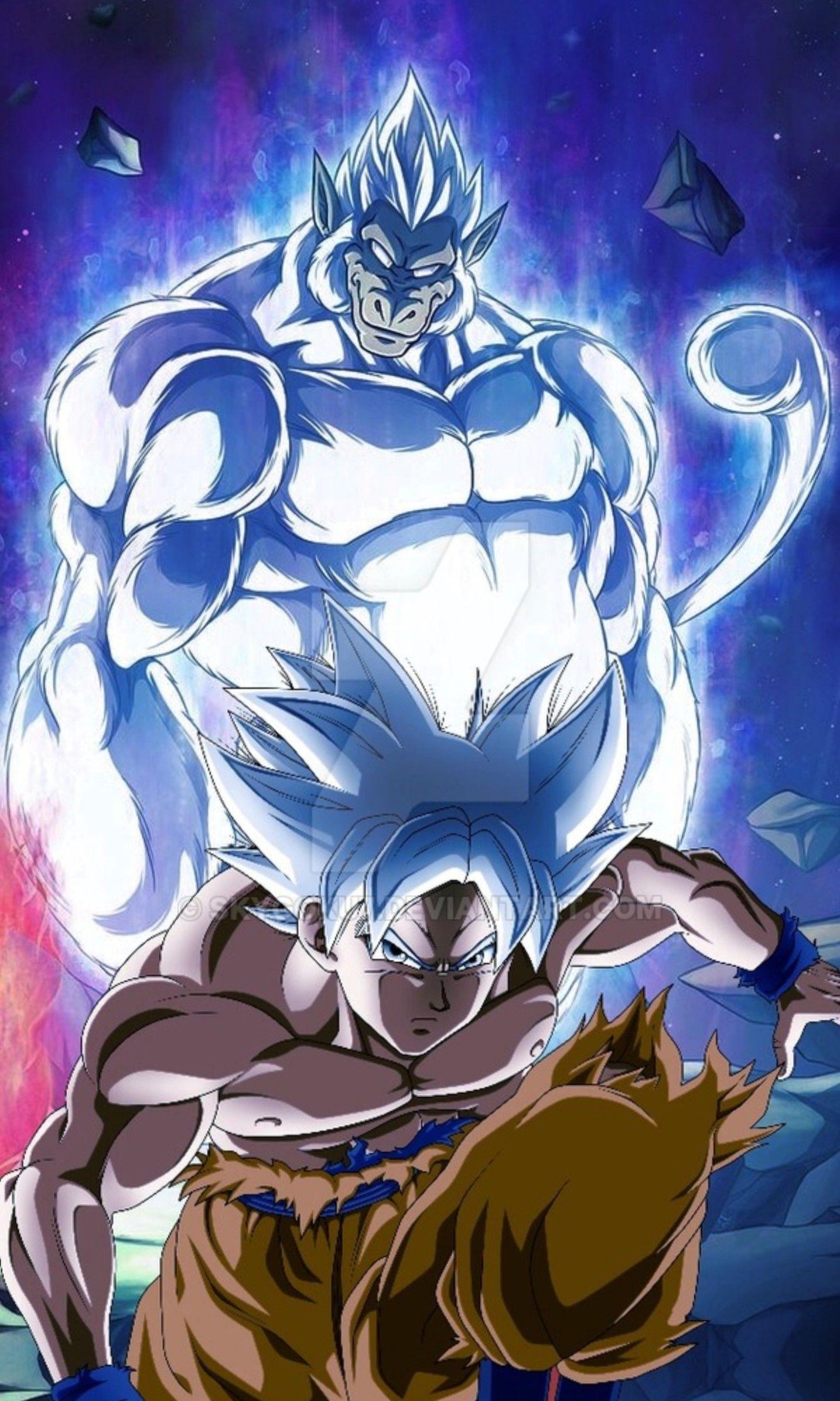 Goku Oozaru Ultra Instinct Mastered Dragon Ball Super Personajes De Goku Figuras De Goku Dragones
