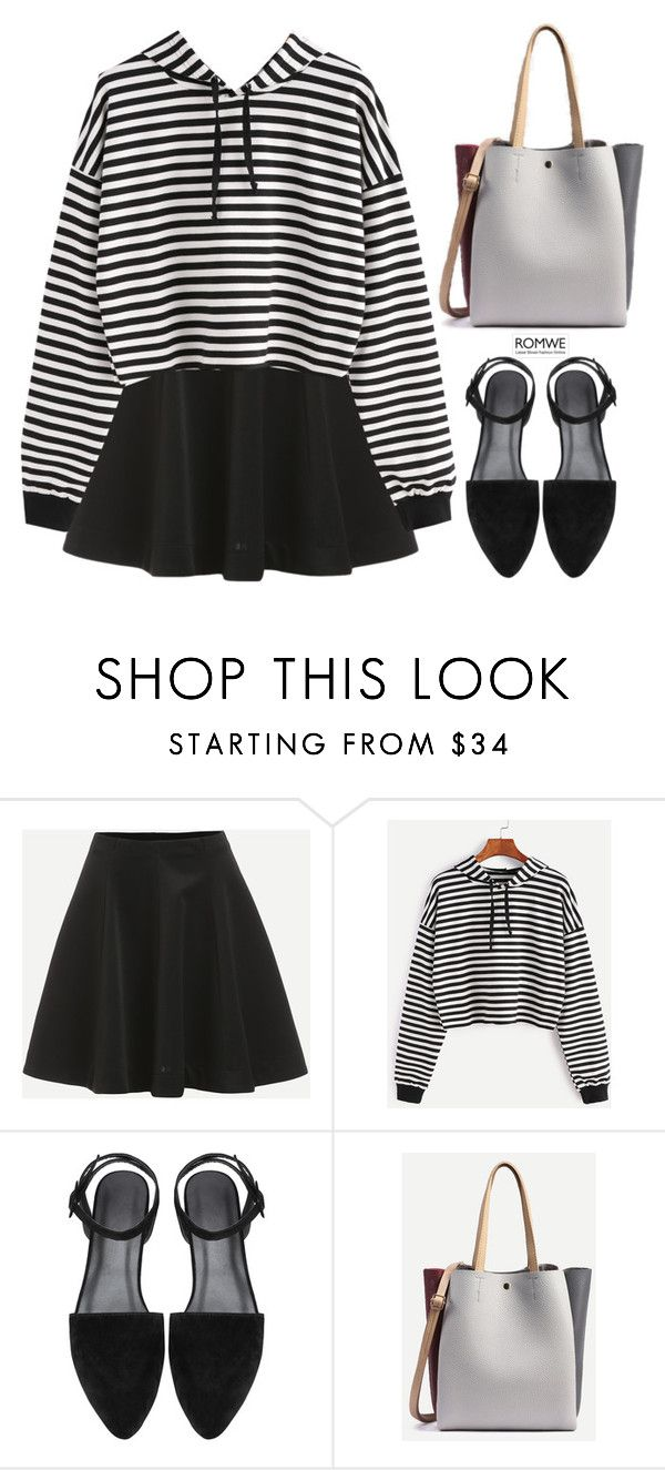 """""""Winky winky who's got the ball"""" by gabygirafe ❤ liked on Polyvore featuring simple, blackandwhite and casualoutfit"""