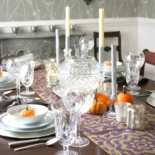 5 Favorite Thanksgiving Table Decorations #thanksgivingtablesettings
