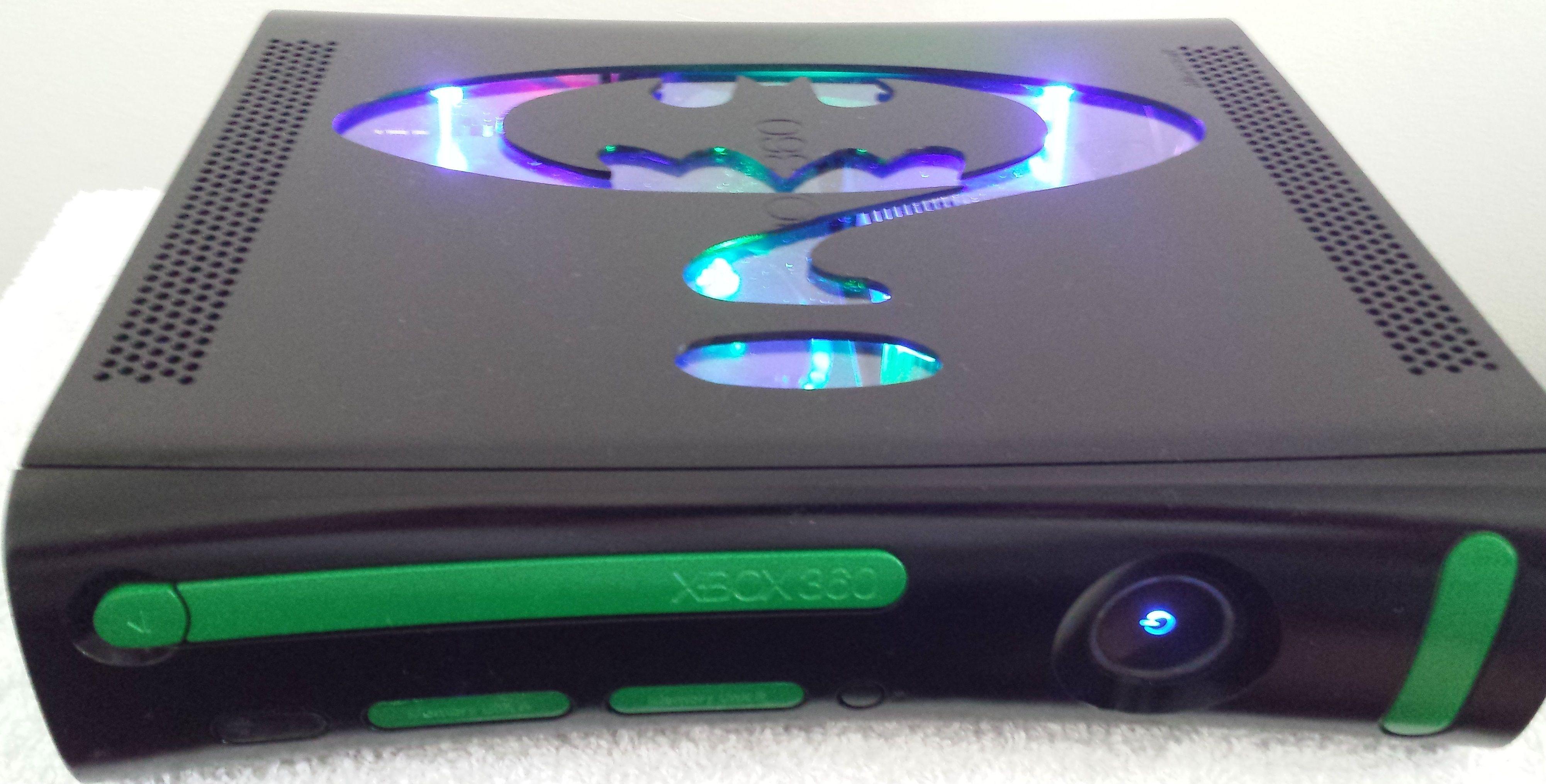 Custom Xbox 360 RGH Jasper Batman Forever | Custom Xbox 360 RGH JTAG