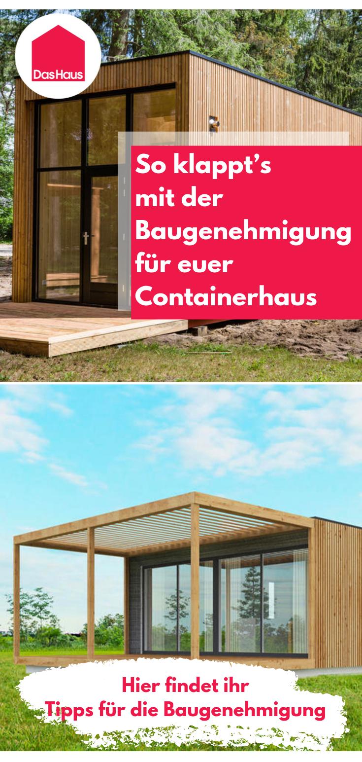 Containerhaus Tipps rund um die Baugenehmigung
