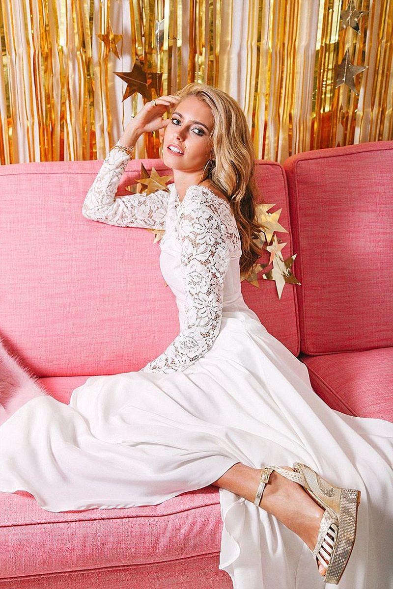 16 WEDDING DRESSES WITH SLEEVES | <Wedding> | Pinterest