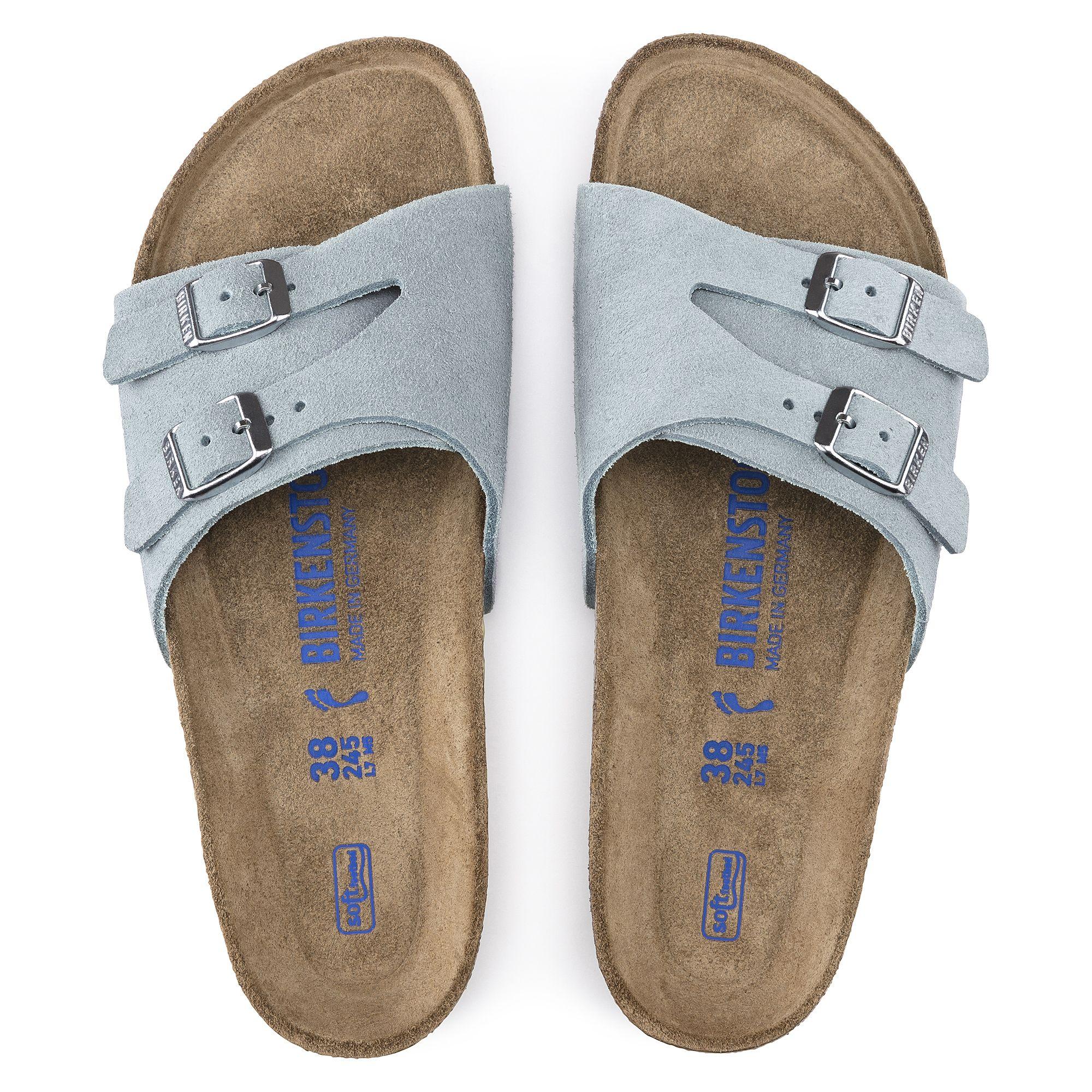 562f4c13c6a Vaduz Suede Soft Footbed Light Blue