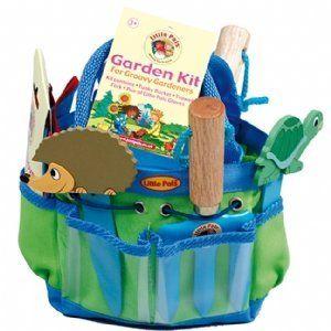 childrens garden tools set. Children\u0027s Gardening Tools Kit - Blue Childrens Garden Set A