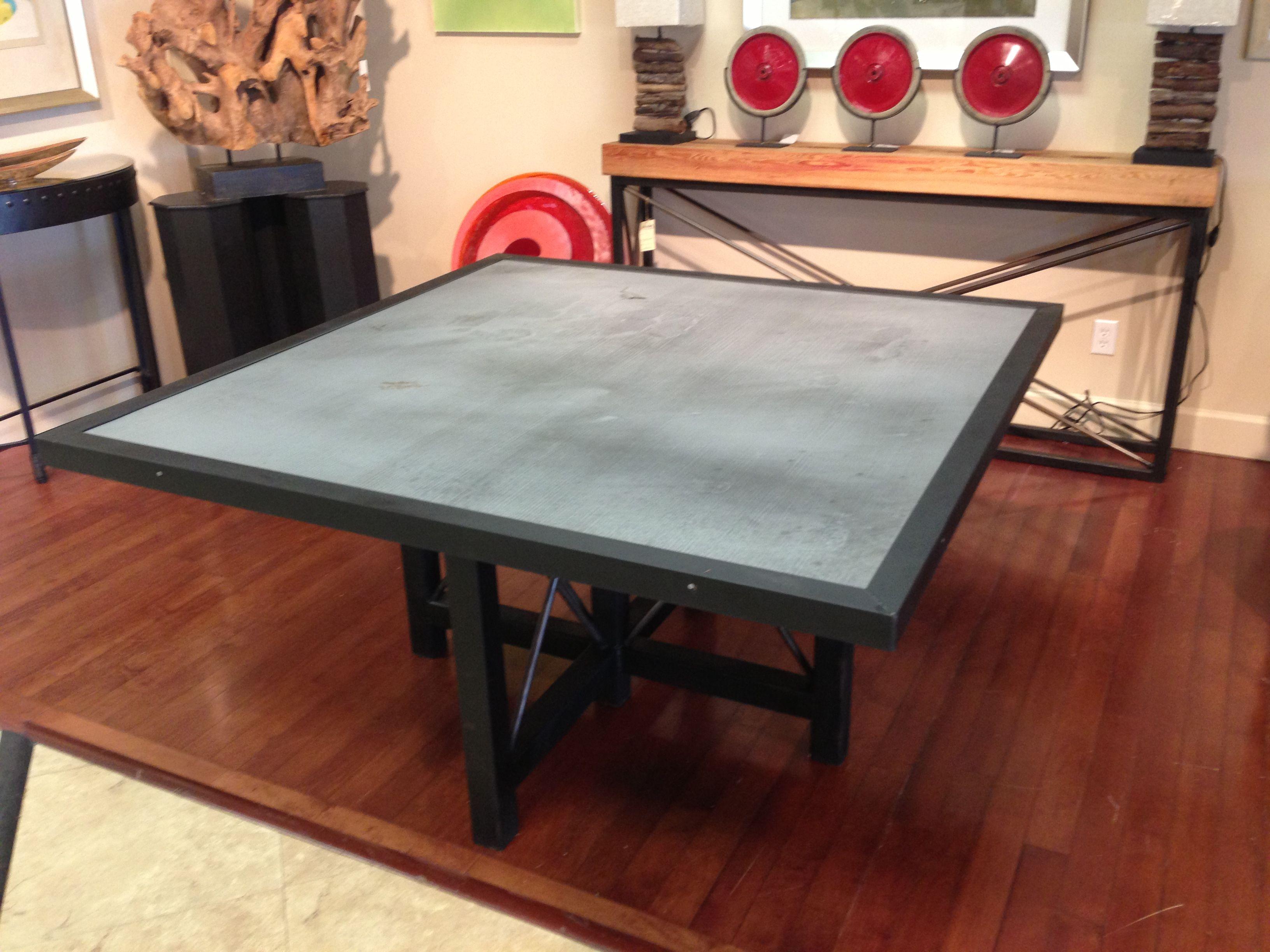 Modern Zinc Table Zinc Table Kitchen Dinning Furniture