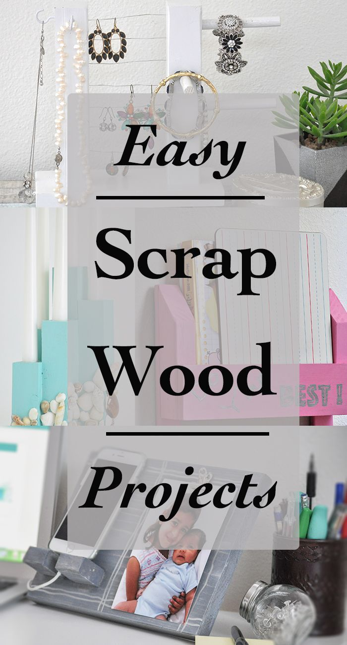 Easy Scrap Wood Projects And Ideas Easy Woodworking Projects For