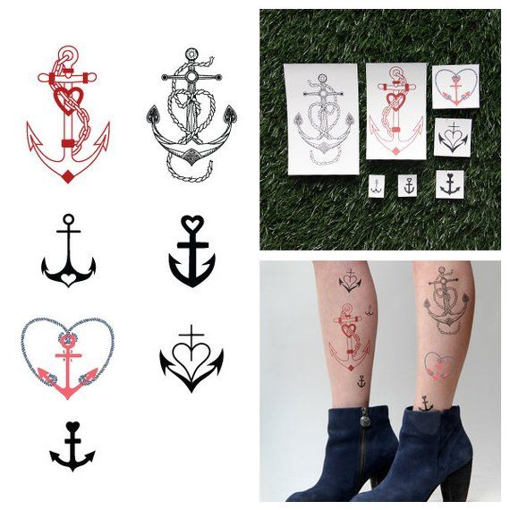 Sea Legs - Temporary Tattoo Pack (Set of 14)