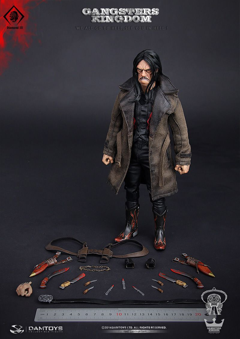 1//6 Scale VERYCOOL VCM-3008 Medicated Psychopath James Box Set IN STOCK