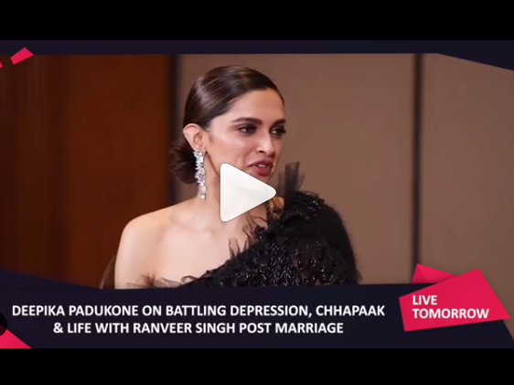 Watch Deepika Padukone From The Promotion Of Her Upcoming Movie Chaapaak In 2020 Deepika Padukone Upcoming Movies Movies