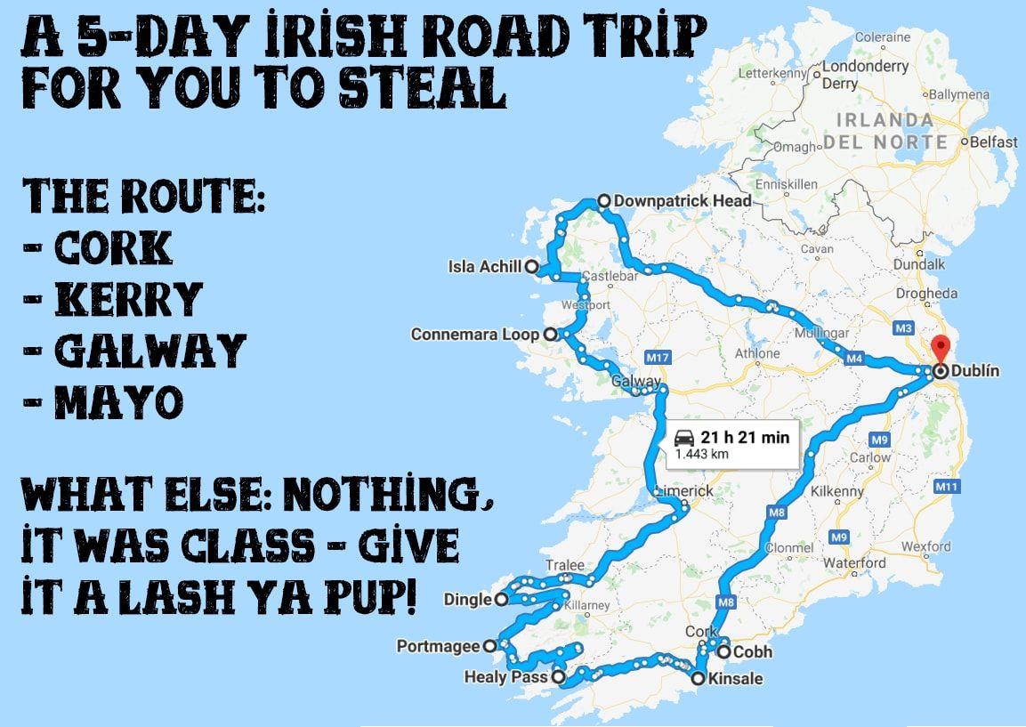 Dies Ist Die Perfekte Irland Reiseroute Fur Den Ersten Besuch