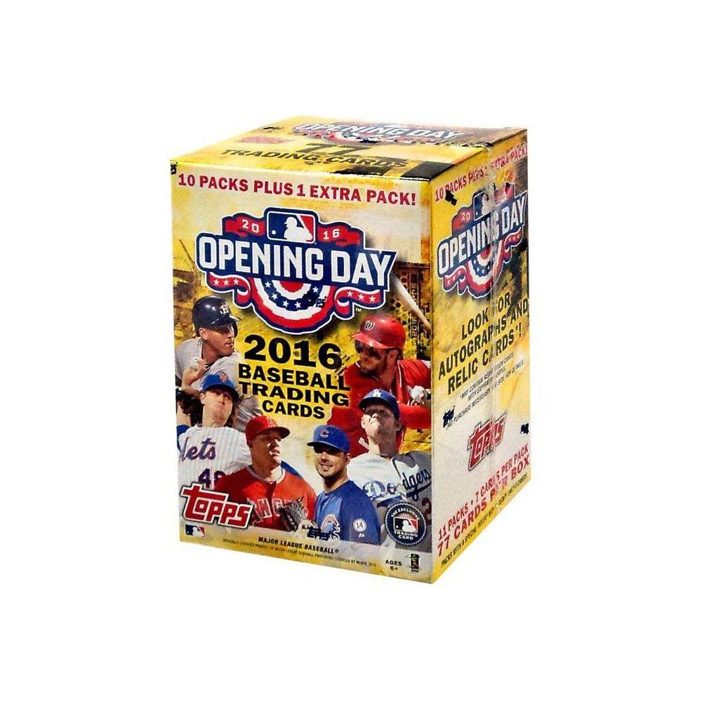 MLB Topps 2016 Opening Day Baseball Trading Card BLASTER