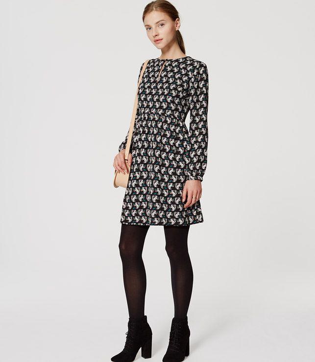 loft dresses. Primary Image Of Squirrel Keyhole Dress Loft Dresses V