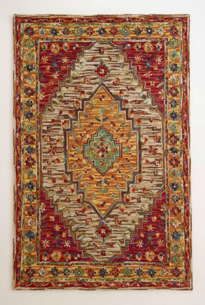 Zahra Caravan Tufted Rug Crafted In India Of 100 Wool