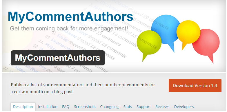 MyCommentAuthors