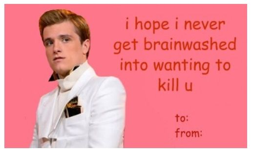 Hg funny valentines d the hunger games catching fire peeta hg funny valentines d the hunger games catching fire peeta mallark josh voltagebd Gallery
