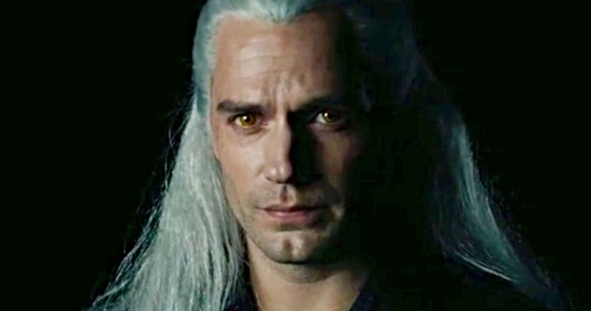 Henry Cavill As Geralt Of Rivia Revealed In Netflix S The