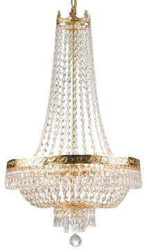 French empire crystal chandelier lighting h 30 x w 17 french empire crystal chandelier lighting h 30 x w 17 traditional chandeliers aloadofball Image collections