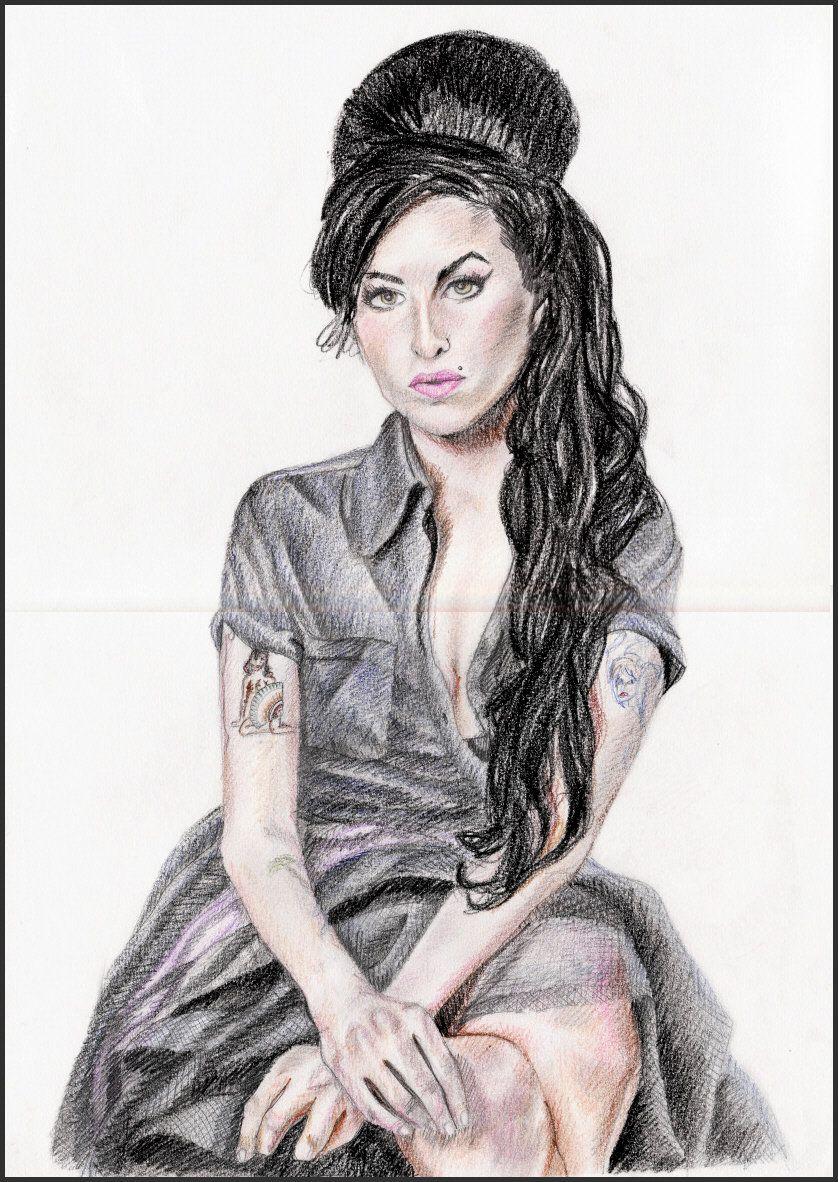 Amy Winehouse by MeTheObscure on DeviantArt