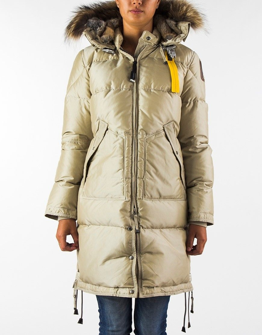 Parajumpers Long Bear Coat Sand Women
