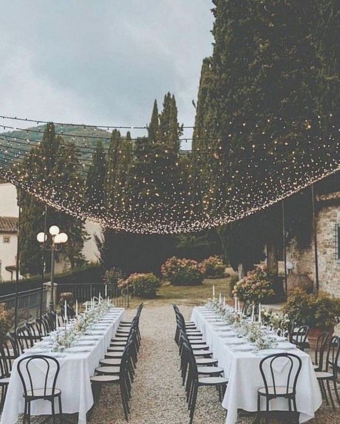 Wedding Lighting Ideas for Rustic Country Wedding Reception