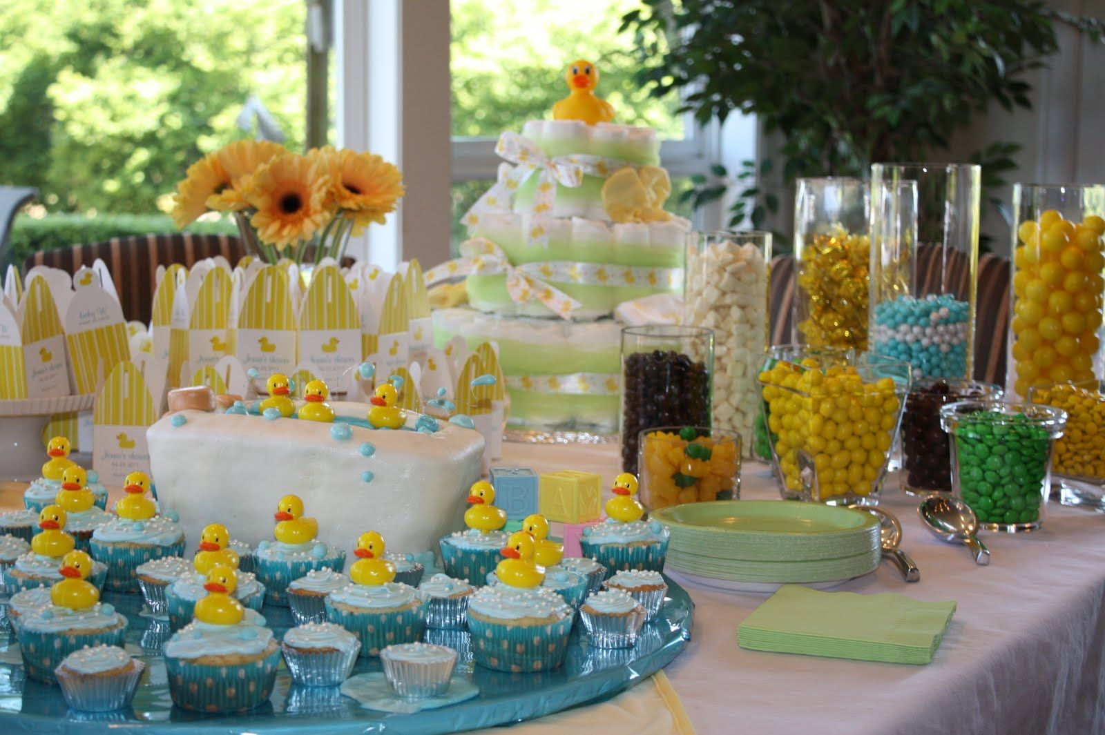 Boy Baby Shower Candy Bar Ideas The Sweets Table