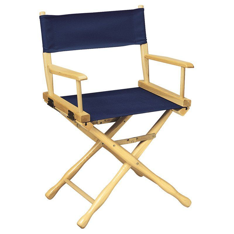 Gold Medal 18 In Classic Standard Height Director Chair Personalization Option Directors Chair Chair Casual Furniture