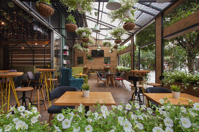 garden coffee lounge tetovo 2016 ld studio restaurants rh pinterest com outdoor garden cafe design small garden cafe design