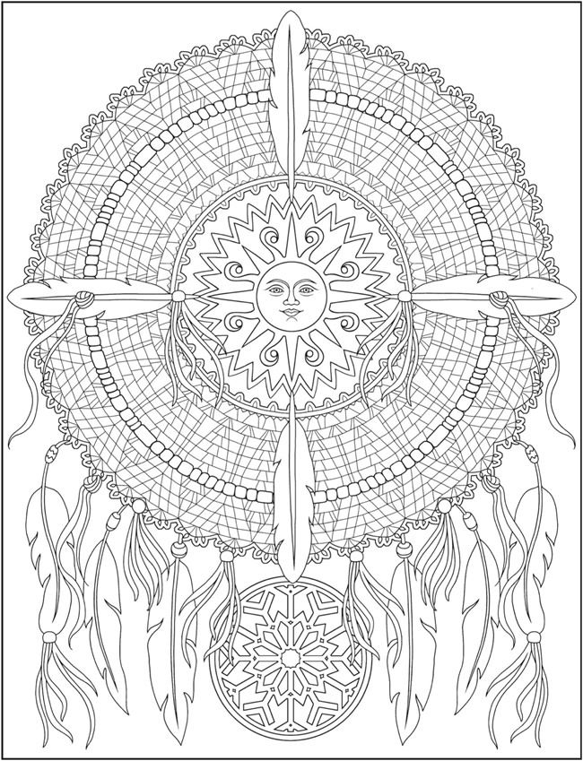 Welcome To Dover Publications Ch Dazzling Dreamcatchers