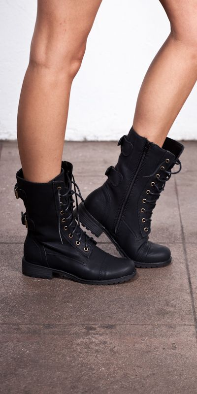 vegan combat boots. | Shoes | Pinterest | I love, Lace up boots ...