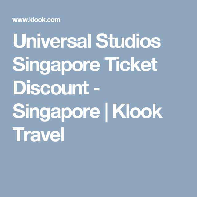 Buy Universal Studios Singapore 1 Day Ticket Universal Studios Universal Studios Singapore Universal