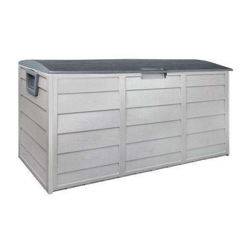 290l Weatherproof Outdoor Storage Box Patio Storage Plastic Outdoor Storage Box Large Storage Cabinets