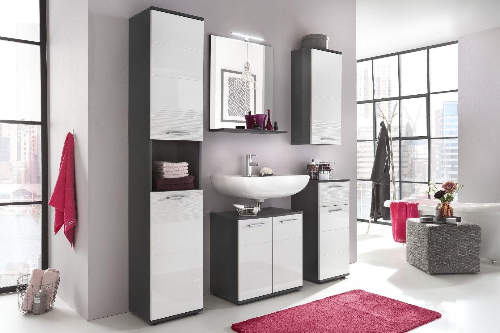 Badezimmer Smart, Auführung: Korpus In Grau