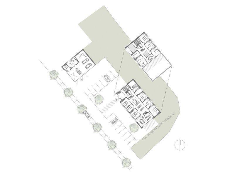 Grundrisse - Neubau Klawonn Assekuranz