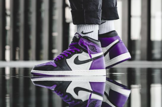 44797f33f16 Release Reminder: Air Jordan 1 Retro High OG Court Purple | Air ...