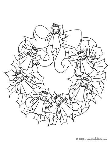 Online Kleuren Christmas Coloring Pages Coloring Pages Wreaths