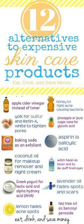 Sichere und günstige Alternativen zu teuren Hautpflegeprodukten   - Beauty - #Alternativen #Beauty #Günstige #Hautpflegeprodukten #sichere #teuren #und #skincare