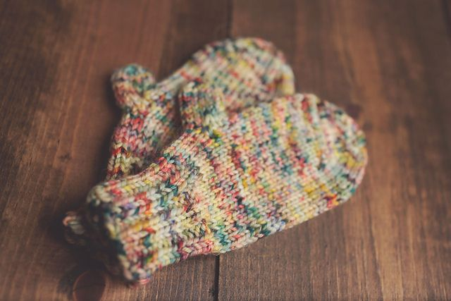 Toddler Mitten Knit Pattern Worsted Weight Httpravelry