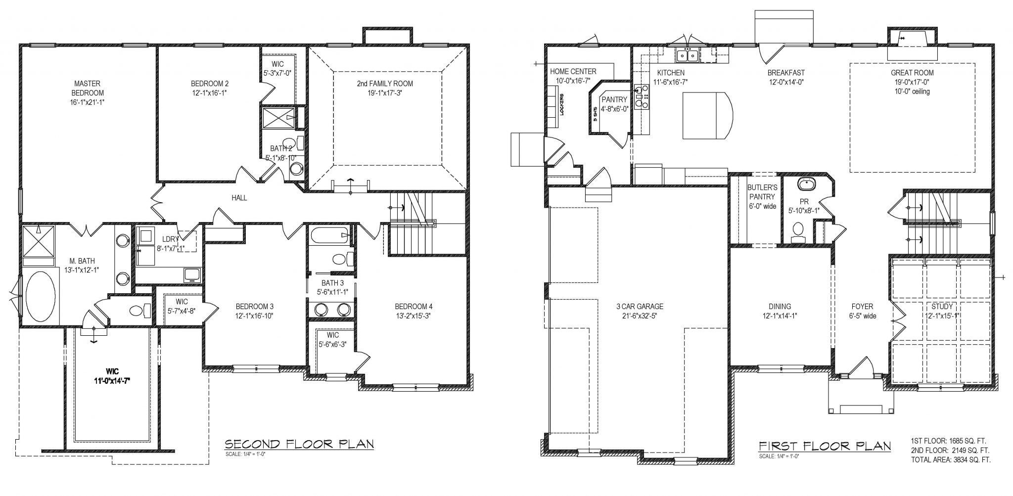 Interior Design Floor Plan Sketches Architectural Custom House