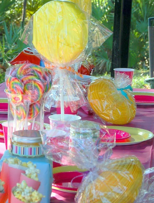 Party candy table ideas prepare for  themed more here decorations also rh pinterest